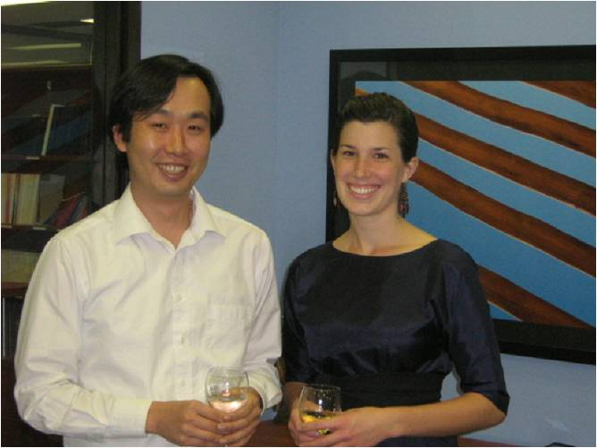 Weston Fellowship Awardees Jae Hoon Han and Erika Donald