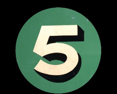A big number five