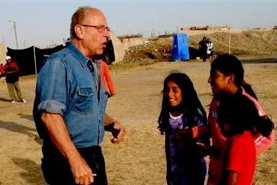 Duncan Pedersen in Peru.