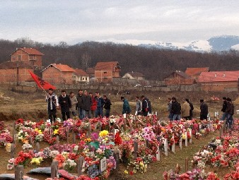 Martyrs' Cemetery in Kosovar Village