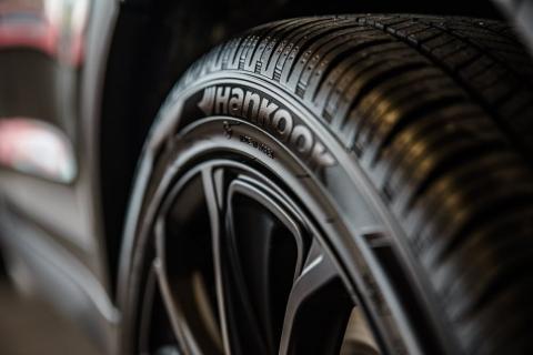 black Tire on car