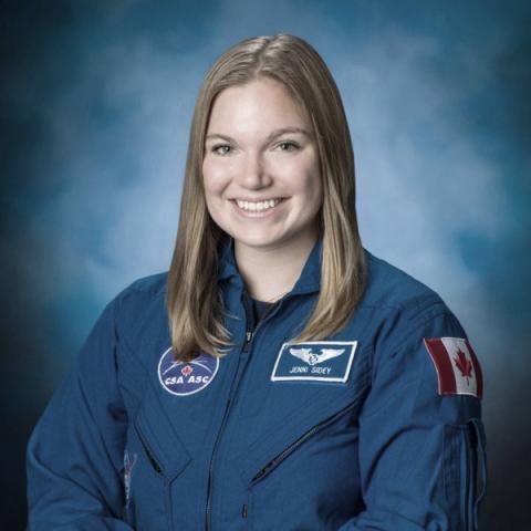 Canadian Space Agency portrait of Jennifer Sidey-Gibbons