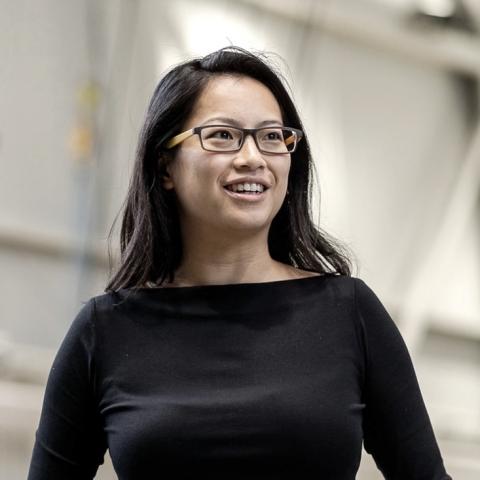 Portrait of Andrea Zhu