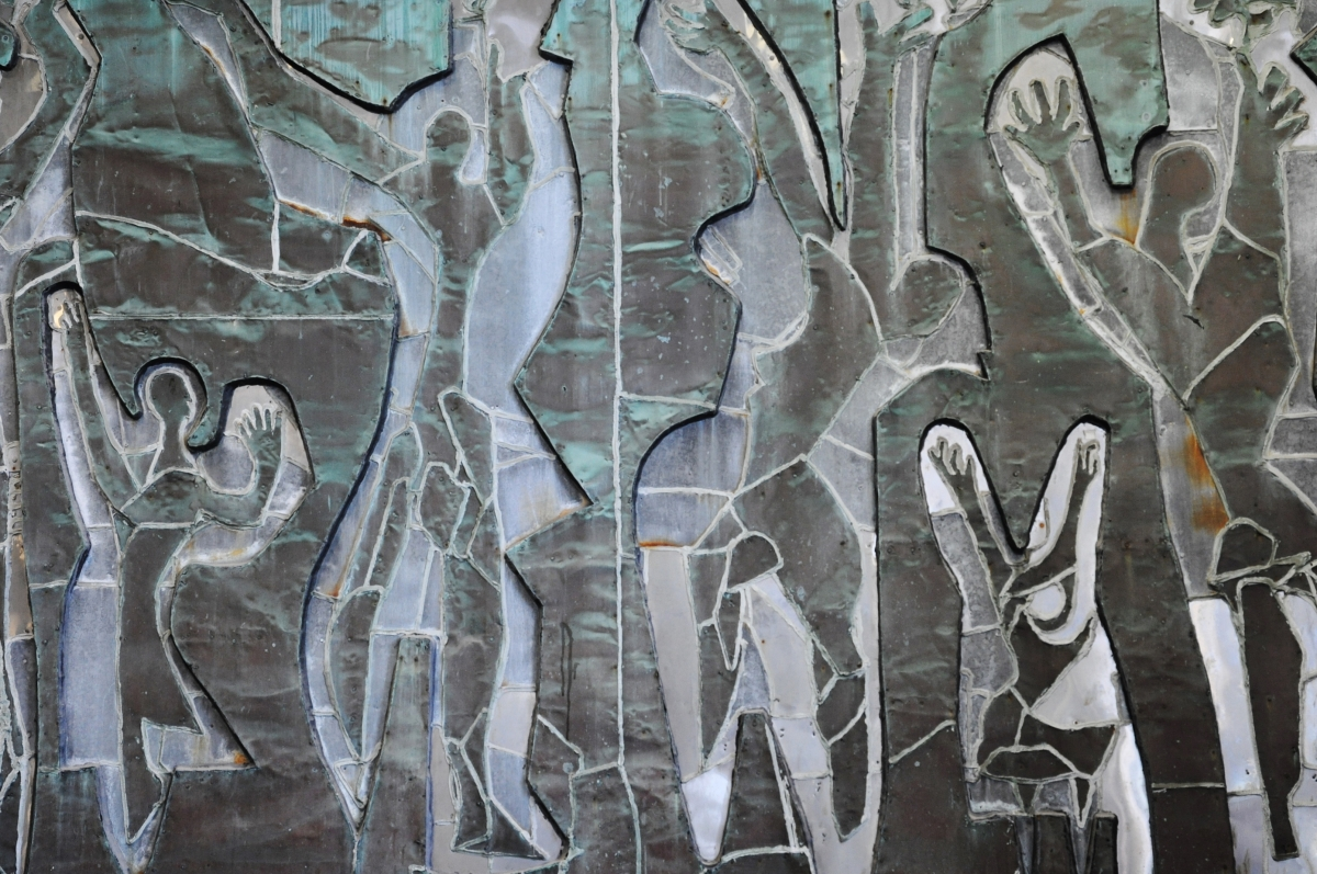 Danse de la paix by Robert Roussil (1953), gift of Richard Wise
