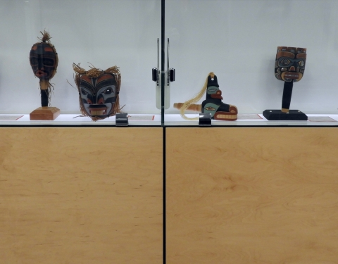 First Nations Woodcarvings in Bronfman