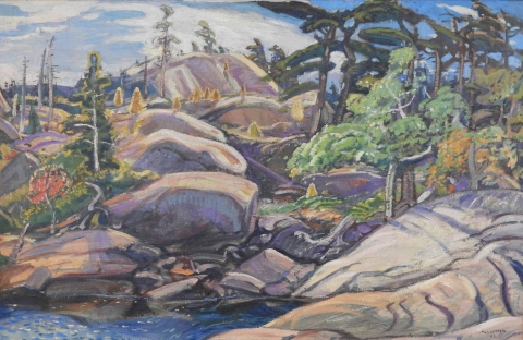 Arthur Lismer, Georgian Bay