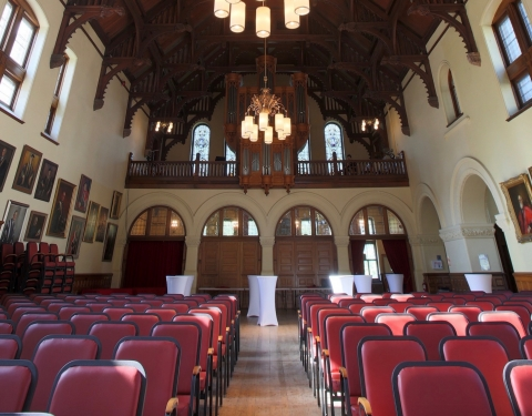 Canadian and British Portraits in Redpath Hall