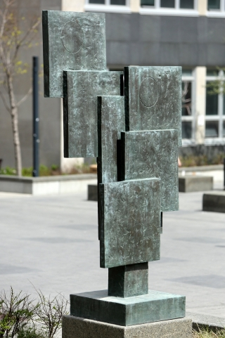 Barbara Hepworth, Square Forms and Circles, 1963, bronze. Gift of the Montreal Standard Newspaper. © Sophie Bowness.