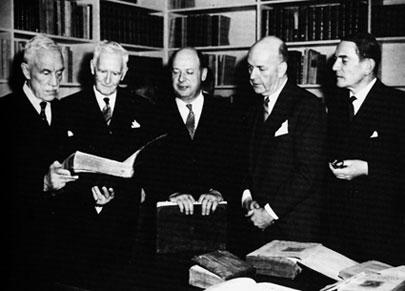 W.B. Scott, A. Wainwright, Francis Lacoste, Hugh O'Donnell, W.C.J. Meredith, 8 Feb. 58