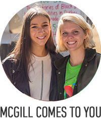 McGill comes to you